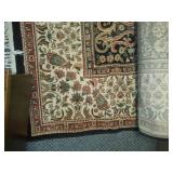 Fringe area rug - very clean. 8 X 11.