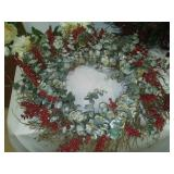 3 decorative wreaths,