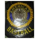New American Legion baseball patch 1962