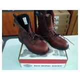 Red Wing 938  Size 10 E2 Men