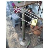 Metal Saddle Stand with Extra Piece