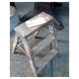 Werner 2ft. Wood Step Ladder