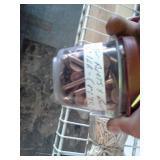 Ratchet Socket Set with Case, Plastic Bins of Shoe Rivets