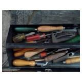 Shoe Hand Tools with Metal Tool Boxes