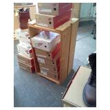 Lot of (9) Wood Crates