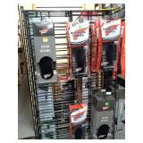 Wire Rack Display Cart, Foot Insert Support Pads