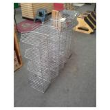 Stackable Wire Baskets with 5-Bins