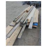 Misc Lot of Lumber