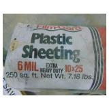 10 x 25 6 MIL Plastic Sheeting