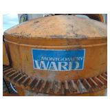 Montgomery Ward Electric Concrete Mixer