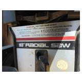"Craftsman 10"" Radial Arm Saw"