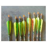 (8) Whitetail Hunter 6075 Arrows