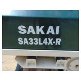 2016 Sakai America Vibratory Trench Roller With Remote and Transmitter