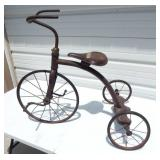 Antique Tricycle with Hard Rubber Tires