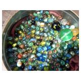 Large Lot of Marbles and Shooters