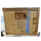 Vintage Herkert and Meisel United States Air Force Organizational Equipment Trunk