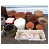 Huge Lot of Indoor and Outdoor Plant Pots