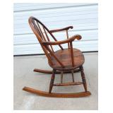 Vintage Wood Rocking Chair