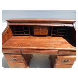 Vintage Roll Top Desk