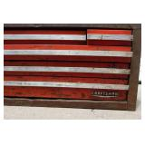 Vintage Craftsman Metal Tool Chest