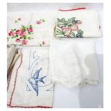 Lot of Vintage Table Cloths