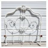 Vintage Ornate Iron Garden Twin Bed Frame