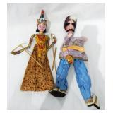 Set of Two Vintage Puppets