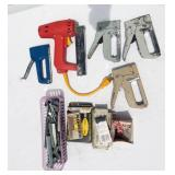 Lot of Staple Guns and Staples