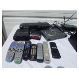Lot of Miscellaneous Dish Receivers, DVD Players and Other Electronics