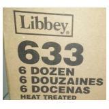 Libbey 5 oz juice glasses - 55, new in box.