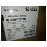 McKesson intermittent catheter trays - 20.