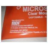 6 CPR micro shield clear mouth barriers