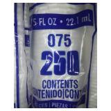 Dart bare solo .75 fluid ounce paper cups. (9*250)