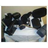 Varierty  of headrests and pads for wheelchairs. Big dollar lot.