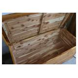 Cedar chest in good condition...
