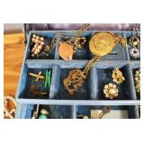 Jewelry box with jewelry...