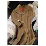 Lot of leather and other jackets, b...