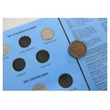 State quarters and Mason token...