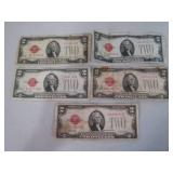 1928 $2.00 bills...