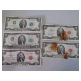 Assorted $2.00 bills...