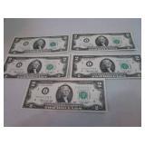 1976 $2.00 bills...