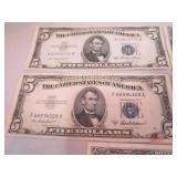 Lot of silver certificates...