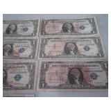 $1.00 silver certificates...
