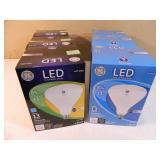 6 New LED Floodlight Bulbs