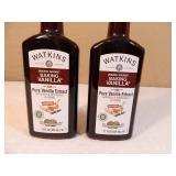 2 New Bottles of Watkins Baking Vanilla