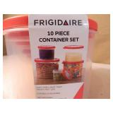 2 New Sets of Frigidaire Food Storage Containers with Lids