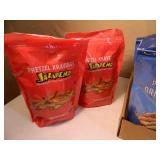 8 New Bags of Flavored Pretzels