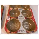 4 New Bake Pans
