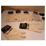 12 New Pairs of Canvas Multi Purpose Gloves