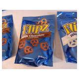 8 New Bags of Flipz Covered Pretzels
